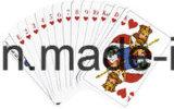 Soem-kundenspezifischer bekanntmachender Schürhaken Playingcard mit preiswertem Preis