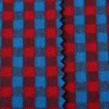 tela de escovadela de 3%Spandex 97%Polyester para o revestimento do vento do terno do revestimento da camisa