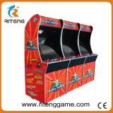 Cabina de la arcada de juego de Pacman del empujador de la moneda para la venta