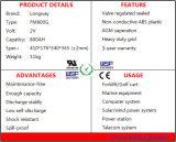Batteria al piombo addebitabile del gel FM800 per il condizionatore d'aria