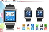 2015 novos gps inteligente telefone do relógio Bluetooth com android 4.0