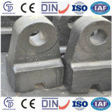 Cabeça de martelo do triturador Zg120mn13cr2 para o triturador de martelo