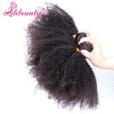 8Aカンボジアのアフリカのねじれた巻き毛のバージンの毛の人間の毛髪の拡張
