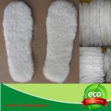 Sottopiedi reali della pelle di pecora della pelliccia