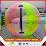 TPU/PVCの透過膨脹可能な水子供のための歩く球の価格、球形の水差し、膨脹可能な水球および大人