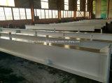 Fascio del materiale da costruzione della struttura d'acciaio di disegno H