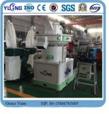 Boucle-Die Wood Sawdust Pellet Machine Line 4-6t/H de Yulong Brand Vertical