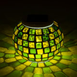 IP44 LED 태양 테이블 램프를 바꾸는 태양 모자이크 유리 색깔
