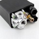 Válvula de control resistente del interruptor de presión del compresor de aire de la alta calidad 90 PSI -120 PSI