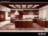 Gabinete 2016 de cozinha da madeira contínua de Welbom/mobília da cozinha
