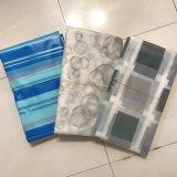PEVA listrados azuis Waterproof a cortina de chuveiro para o banheiro
