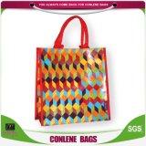 編まれる袋をカスタマイズするPPによって編まれる袋のプラスチックPPによって編まれる袋を運びなさい