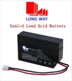 wartungsfreie Batterie 12V0.8ah für Notbeleuchtung mit Leistungs-Einleitung