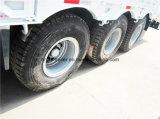baixo leito 80t-100t/de Lowboy reboque caminhão Semi com Sidewall