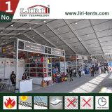 Kabinendach-Zelt für Verkauf 40 x 180m Messeen-Zelt und Ausstellung, angemessen