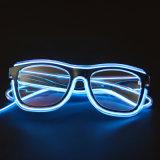 Новые продавая голубые стекла цвета СИД проблескивая оптически, стекла партии (6850)