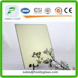 decoratieve Spiegel van de Spiegel van de Kleur van 1.5mm de 2mm Dunne Sleutelbloem Gele Weerspiegelende