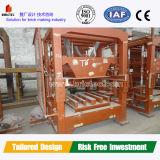 Chaîne de production complètement automatique bloc concret de machine de brique faisant la machine