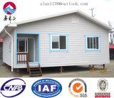 Oficina de acero/chalet de la casa prefabricada de la estructura de acero