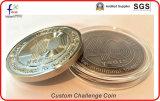 Античная покрынная латунь умирает пораженные монетки возможности