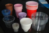 Пластичная чашка мороженого подсчитывая машину запечатывания упаковки