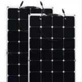 Comitato solare semi flessibile caldo di vendita 100W con le celle di Sunpower