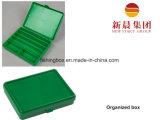 중간 크기 녹색 편성된 상자