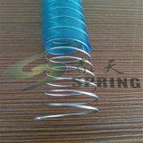 """boyau spiralé de fil d'acier de PVC de 1/2 """""""