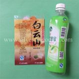 Печатание ярлыка Shrink бутылки воды PVC