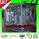 Máquina de la filtración del petróleo del transformador del vacío, petróleo que recicla el sistema de la regeneración