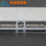 Profils en aluminium argentés d'aluminium de Matt d'extrusion