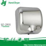 Secadores de alta velocidad de la mano 1800W del secador automático de la mano del acero inoxidable del secador de la mano para los cuartos de baño