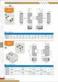 プラスチック型機械部品のための正方形の連結の煉瓦型