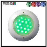 낮은 전압 잘 고정된 다채로운 LED 수중 수영장 빛