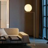 Lâmpada de assoalho de bola de vidro moderna de estilo novo