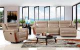 يعيش غرفة أثاث لازم ليّنة جلد ركب أريكة (434)