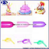 Magische Ballon van de Ballon van de ballon van het Latex van de Impulsen van de draai de Lange