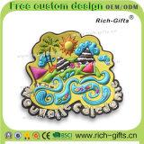 Turismo personalizzato libero dei magneti del frigorifero del PVC dei regali di promozione di disegno (RC-OT)