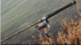 2.1m et 2.4m M Action High Carbon Spinning Fishing Rod