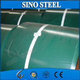 La bobine en acier a enduit la bobine d'une première couche de peinture en acier galvanisée enduite par couleur PPGI