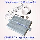 impulsionador G/M 850 do sinal de 2g 3G 4G repetidor verde da tecnologia 900 1800 1900MHz