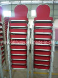 Eleganter runde Rückseiten-Bankett-Möbel-Bankett-Aluminiumstuhl