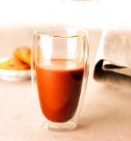 cuvette de jus de tasse de thé de tasse de whiskey de tasse de jus en verre de Borosilicate 450ml