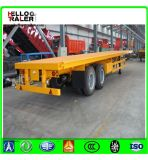 de 2axle 20FT 40FT de recipiente do transporte do leito reboque Semi para a venda