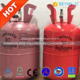 el tanque de acero del globo del helio 30p