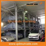 Elevador automático do estacionamento do empilhador do carro do Mutil-Nível de 4 bornes