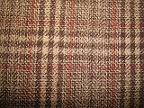 Las lanas Blenched la tela de lana teñida hilado de la verificación