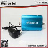 전화를 위한 소형 크기 CDMA980-S 850MHz 2g 3G 이동할 수 있는 신호 증폭기
