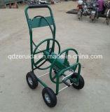 Chariot de bobine de boyau de jardin d'enduit de poudre (TC4711)
