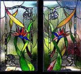 Il divisorio di arte ha temperato l'arte di vetro rotolata della finestra del portello del vaso della vernice del reticolo della bolla laminata costruzione decorativa